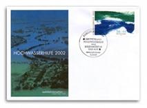 """Ersttagsbrief Wohlfahrtsmarken """"Hochwasser"""""""